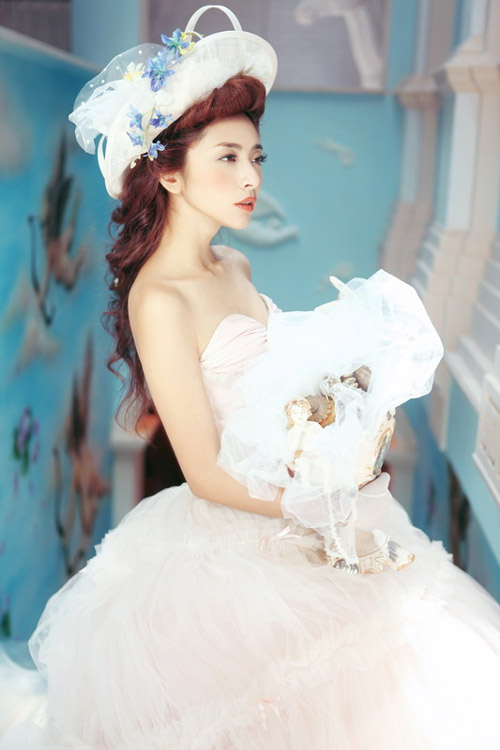 Để trở thành cô dâu đẹp nhất