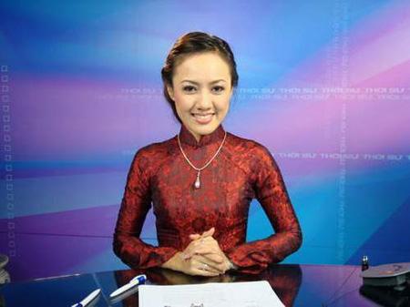 Những nữ MC truyền hình  xinh đẹp nhất Việt Nam :