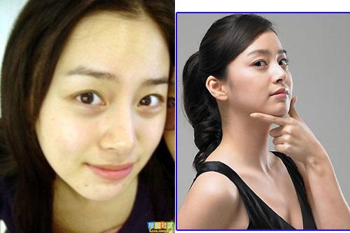 Người đẹp Kim Tae Hee.