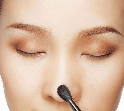 Cách trang điểm dành cho mũi to