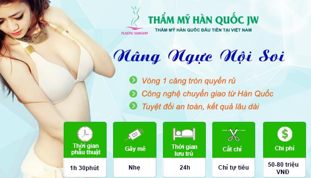 Nâng ngực nội soi
