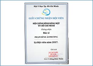 BS.CK1 Phạm Bình Ái Phương