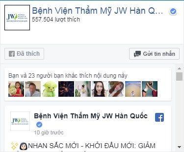 Facebook thammyhanquoc