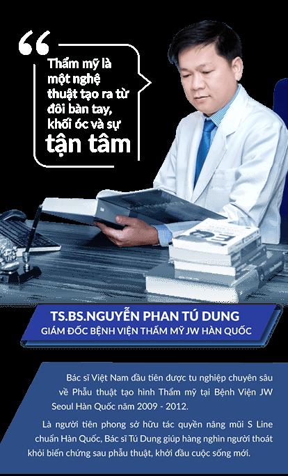 Nâng mũi S Line cùng Bác sĩ Tú Dung