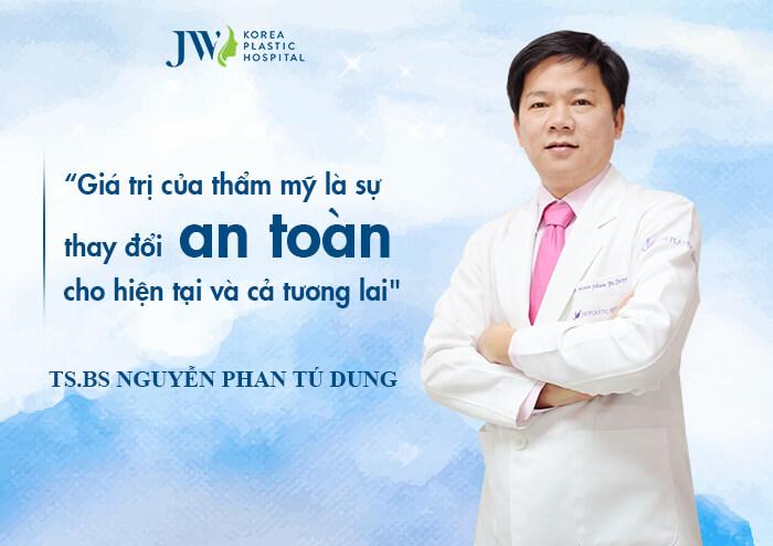 TS.BS Nguyễn Phan Tú Dung - Giám đốc Bệnh viện JW Hàn Quốc