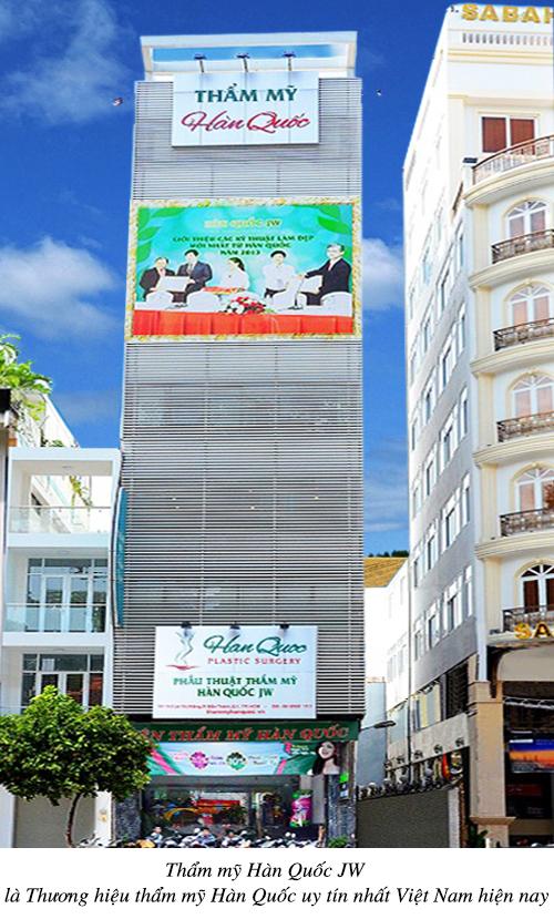 Bệnh viện thẩm mỹ JW Hàn Quốc tại Việt Nam