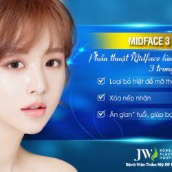 Phẫu thuật Midface làm trẻ hóa vùng mắt 3 trong 1
