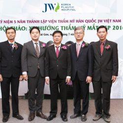 JW Ghi Dấu Thương Hiệu Với Hội Thảo Thẩm Mỹ Hàn Quốc 2016