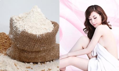 Mách bạn bí quyết dưỡng trắng da toàn thân với cám gạo