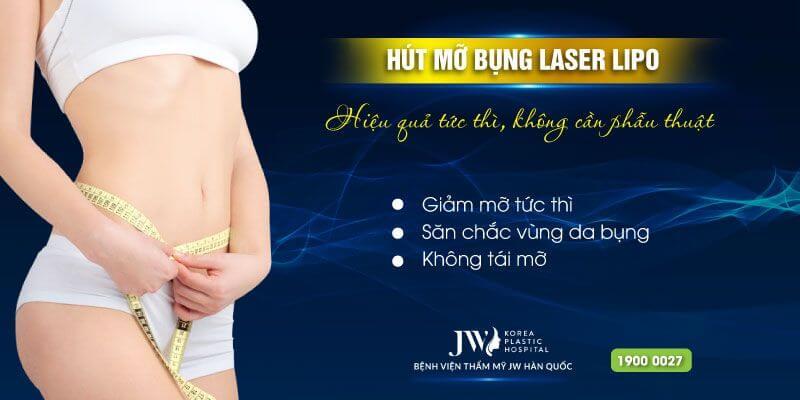hút mỡ bụng không cần đến phẫu thuật