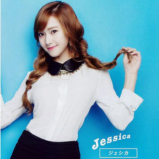 Jessica gọt mặt