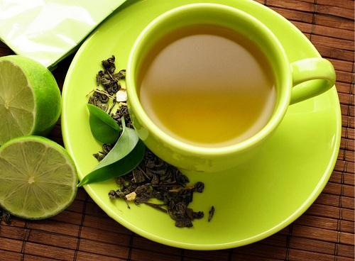 Mách bạn cách giảm béo bụng bằng trà xanh và chanh hiệu quả