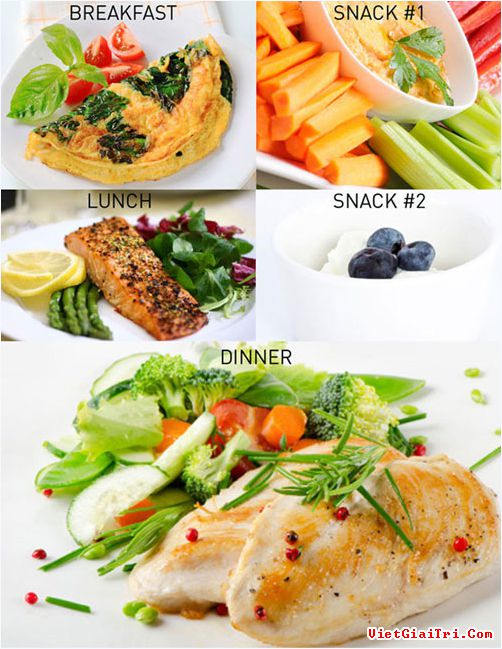 Giảm cân hiệu quả với chế độ ăn kiêng Atkins