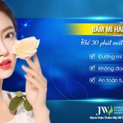 Bấm mí Hàn Quốc – Chỉ 30 phút mắt đẹp tự nhiên