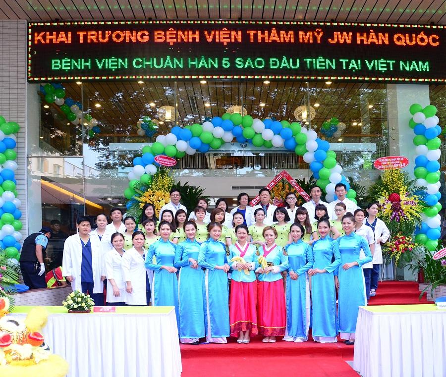 Bệnh viện thẩm mỹ Hàn Quốc đường Lê Thị Riêng
