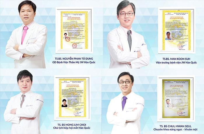 Đội ngũ bác sĩ Việt Nam - Hàn Quốc chuyên môn cao