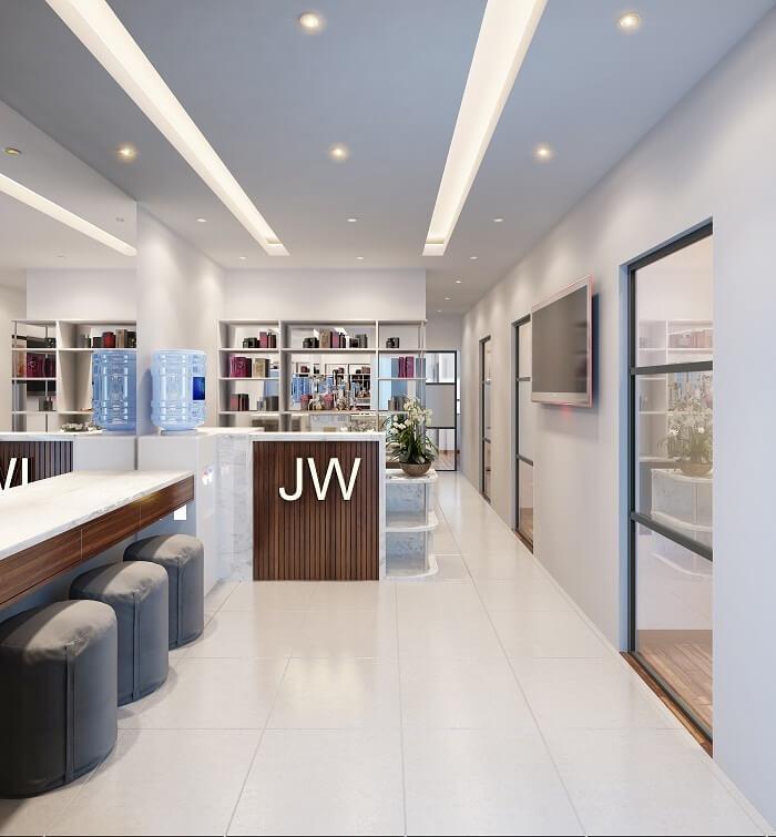 Trung tâm chăm sóc và điều trị da JW sang trọng và đẳng cấp
