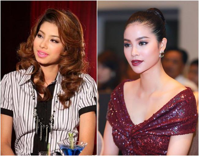 Những sao Việt bị đồn thẩm mỹ