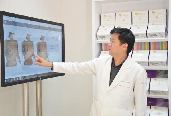 Nâng ngực nội soi túi Nano chip 3D Motiva là gì