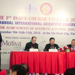 Bác sĩ JW báo cáo thành công hơn 1000 ca phẫu thuật hàm mặt phức tạp tại thẩm mỹ quốc tế ISAPS 2016