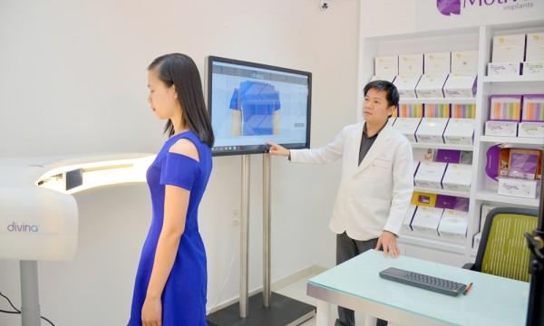 nâng ngực nội soi túi nano chip 3d motiva giá bao nhiêu tiền
