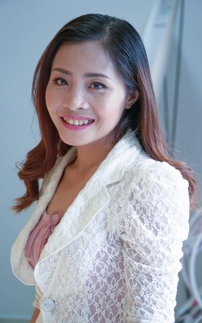 Hình ảnh chị Đinh Thị Trà sau Phẫu thuật hàm hô