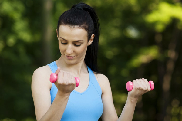 Bảo vệ ngực khi tập thể dục