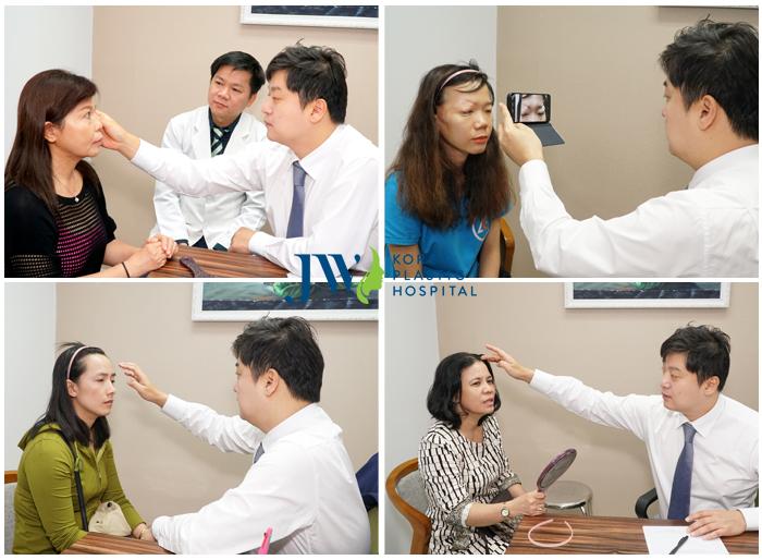 Thăm khám với bác sĩ chuyên gia và bày tỏ nguyện vọng