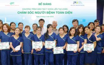 Đào tạo y khoa liên tục CME cho toàn bộ điều dưỡng Bệnh viện JW