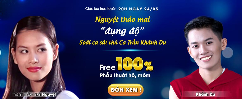 banner livestream khánh du