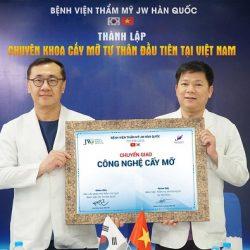 JW thành lập Chuyên khoa cấy mỡ tự thân đầu tiên tại Việt Nam