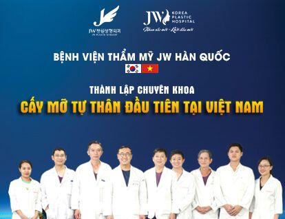JW thành lập Chuyên khoa cấy mỡ tự thân – Mobile