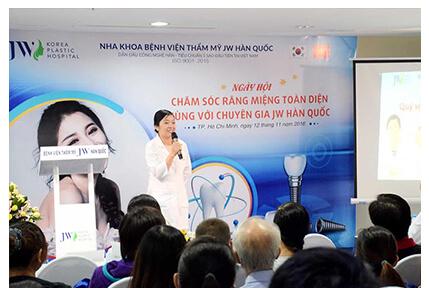 Chăm sóc răng miệng toàn diện cùng chuyên gia JW Hàn Quốc