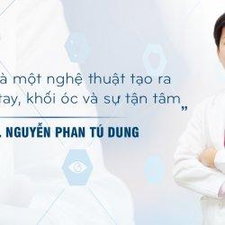 Bác sĩ sửa mũi đẹp nhất Sài Gòn - TS.BS Nguyễn Phan Tú Dung