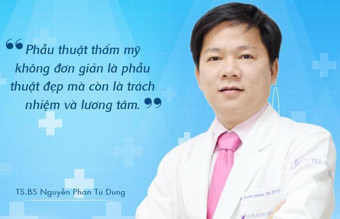 TS.BS Nguyễn Phan Tú Dung - Chuyên gia phẫu thuật hàm mặt tại Việt Nam