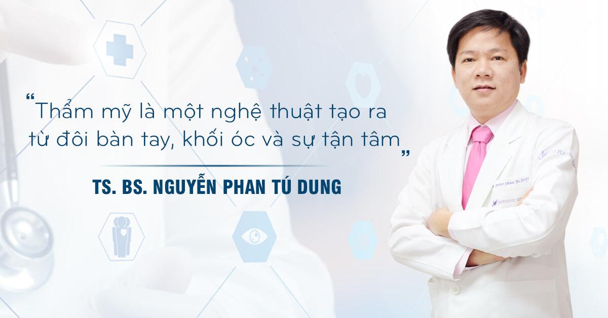 Bác sĩ sửa mũi đẹp nhất Sài Gòn - TS.BS Nguyễn Phan Tú Dung- Ảnh 1