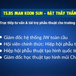 Bậc thầy thẩm mỹ mũi tái xuất Việt Nam hỗ trợ 100% chi phí phẫu thuật