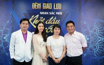 Nhà văn Nguyễn Ngọc Thạch xúc động trước hoàn cảnh của cô gái mặt lệch