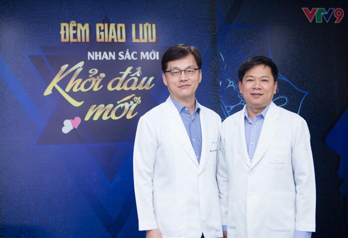 TS.BS Man Koon Suh và TS.BS Nguyễn Phan Tú Dung