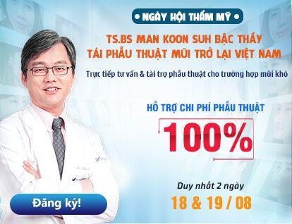 Banner sự kiện Bác sĩ hàn quốc – mobile