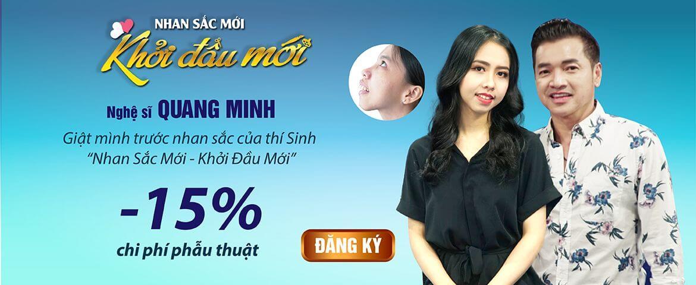 Banner sau livestream Quang Minh – PC