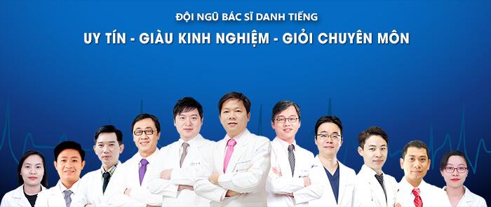 Đội ngũ bác sĩ uy tín, giàu kinh nghiệm, giỏi chuyên môn