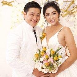 Hoa hậu đại dương Đặng Thu Thảo chính thức lên xe hoa về nhà chồng
