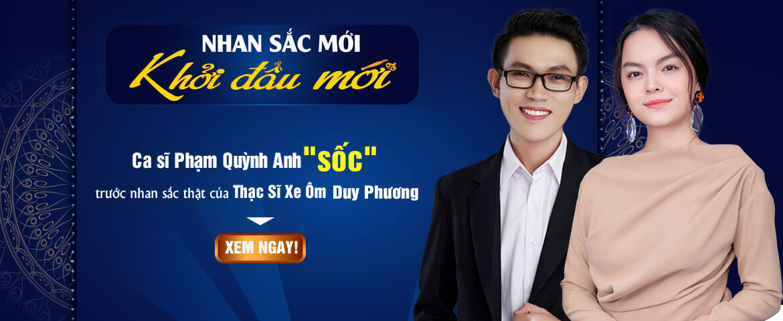Banner Phạm Quỳnh Anh Livestream – PC