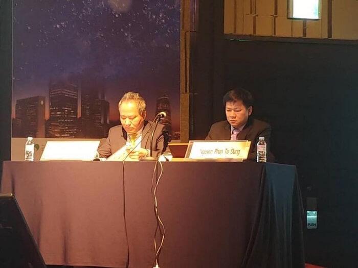 TS.BS Tú Dung vinh dự ngồi ghế Chủ tịch trong hội nghị tạo hình Thẩm mỹ Hàn Quốc PRS
