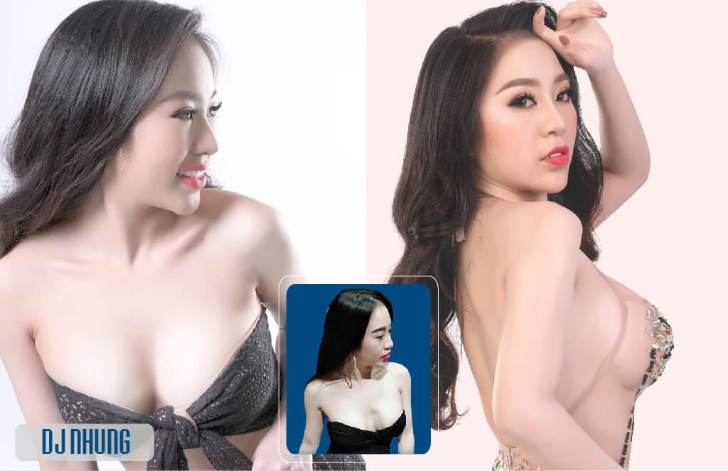 DJ Nhung Babie quyến rũ hơn sau khi tái phẫu thuật ngực