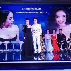 Ca sĩ Nam Cường bị cuốn hút với vòng một sexy của DJ Nhung Babie