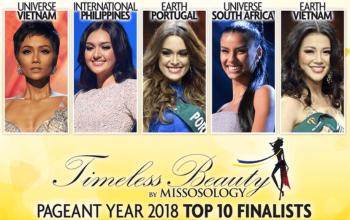 Top 10 người đẹp nhất hành tinh 2018
