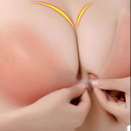 Mặc áo nâng ngực không phẫu thuật