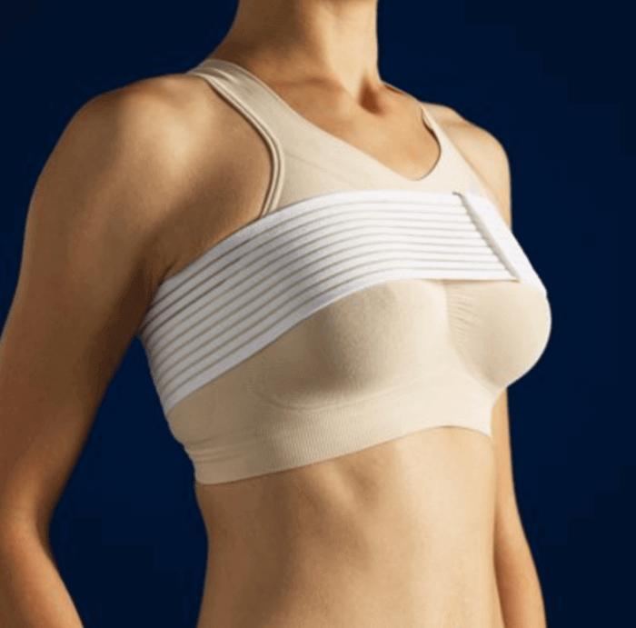 Cách mặc áo định hình sau khi nâng ngực